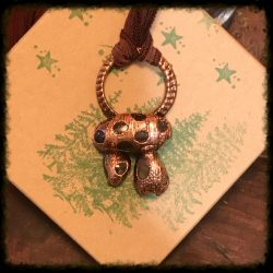 Copper Dolmen Necklace