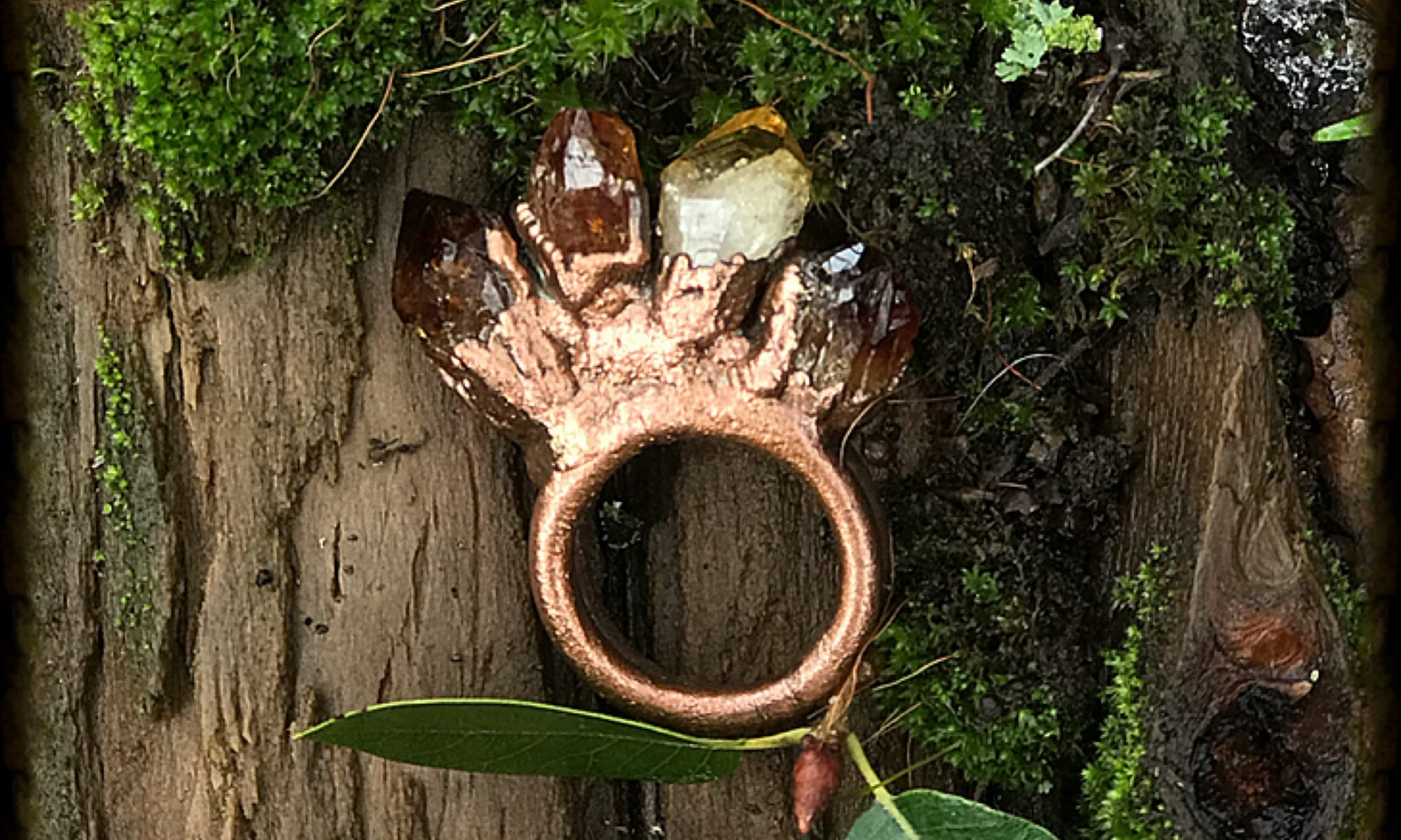Citrine Power Ring